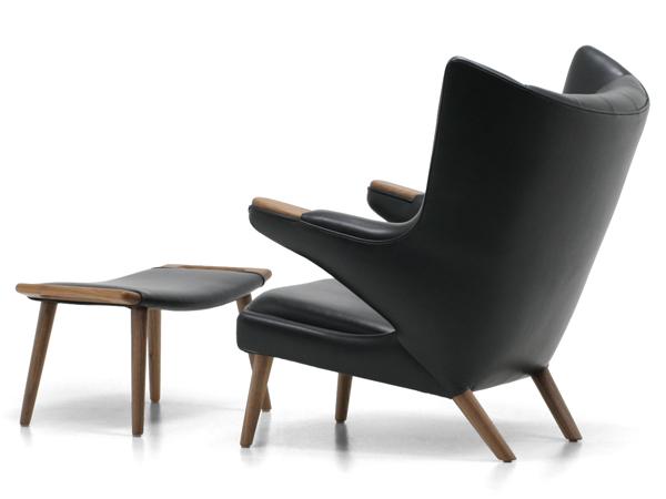 Modernica モダニカpapa Bear Chair Leather Blackパパベアチェア/ブラック
